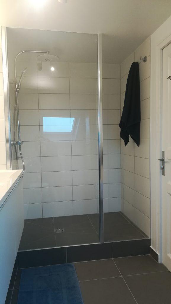 Salle de bains à Reims, douche à l'italienne